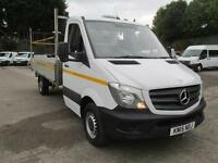 Mercedes-Benz Sprinter 313 Cdi LWB S/Cab Dropside DIESEL MANUAL WHITE (2015)