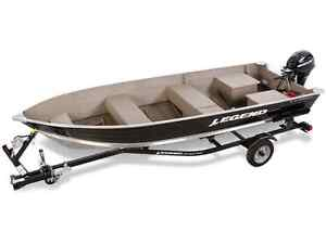 Legend Widebody 16ft with trailer and used 15hp 4 stroke merc