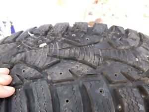185 65R15 Winter Tires Almost New 150 FIRM SELL ASAP
