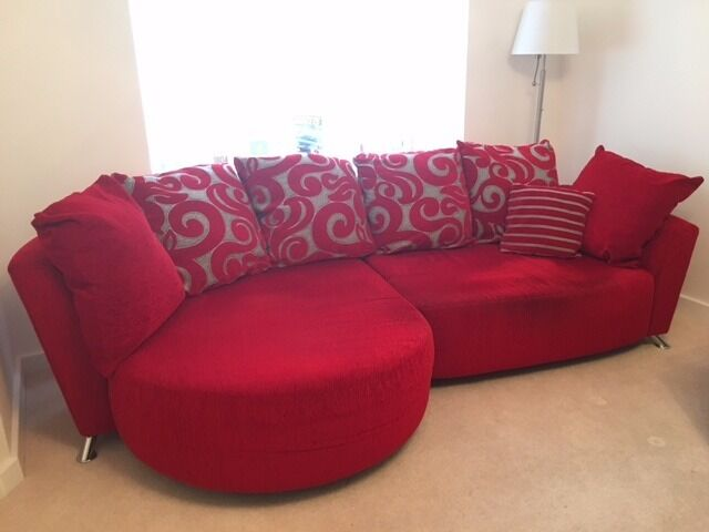 Dfs Red Chaise Sofa | Baci Living Room