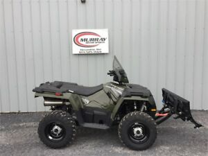2019 POLARIS SPORTSMAN 450 HO WITH WINTER PACKAGE