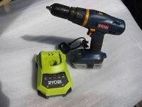 Ryobi cordless drill 18v