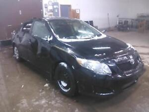 parting out 2009 toyota corolla