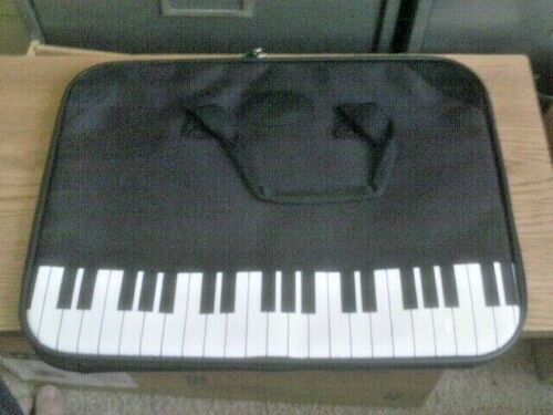 Piano Book Carry Bag with Handles and Inside Pockets