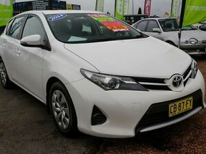 2014 Toyota Corolla ZRE182R Ascent White 7 Speed Automatic Hatchback Colyton Penrith Area Preview