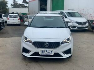 2018 MG MG3 White Automatic Hatchback Hoppers Crossing Wyndham Area Preview