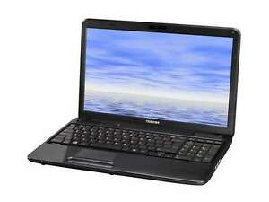 "Toshiba Satellite Laptop with 15.6"" Displa/Reset Disc *REDUCED*"
