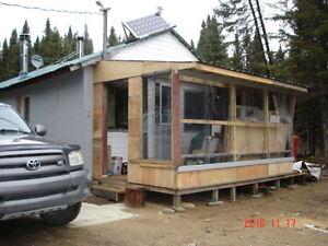 chalet de chasse et peche hors zec klm 114 a vendre Lac-Saint-Jean Saguenay-Lac-Saint-Jean image 1