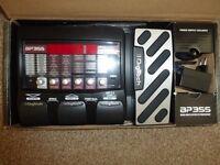 Digitech BP355 Bass multi- effects processor VGC