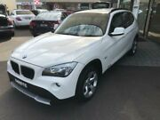 2012 BMW X1 E84 MY0312 sDrive18i Steptronic White 6 Speed Sports Automatic Wagon Batemans Bay Eurobodalla Area Preview