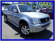 2003 Holden Rodeo RA LT (4x4) Blue 5 Speed Manual Crew Cab Pickup Penrith Penrith Area Preview