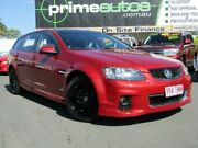 2012 Holden Commodore VE II MY12 SV6 Red 6 Speed Automatic Sportswagon Shailer Park Logan Area Preview