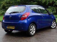 HYUNDAI I20 1.4 COMFORT 3d 99 BHP (blue) 2011