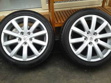 """17"""" Rims and Tyres 205/50R17 Doveton Casey Area Preview"""