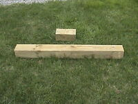 "6"" by 6"" by 4`9``Pressure Treated-Cobourg-"
