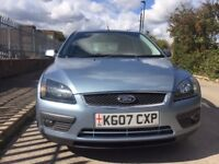 2007 FORD FOCUS ZETEC 1.7 TDCI MANUAL FULL SERVICE HISTORY STAMPS FROM NEW