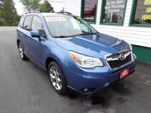 2015 Subaru Forester Ltd. w/Tech Pkg for only $223 bi-weekly-5yr