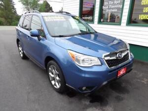 2015 Subaru Forester Ltd. w/Tech Pkg for only $223 bi-weekly-5yr