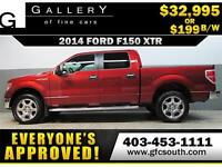 2014 FORD F150 XTR CREW *EVERYONE APPROVED* $0 DOWN $199/BW!