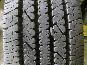 Single Bridgestone Tire Spare 16 inch 245 75 16