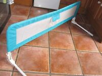 Tomy Long Bed guard/ rail, Turquoise blue