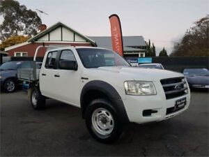 2007 Ford Ranger PJ XL (4x2) White 5 Speed Manual Dual Cab Pick-up Mount Hawthorn Vincent Area Preview