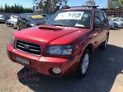 2004 Subaru Forester MY04 XT Burgundy 4 Speed Automatic Wagon Cabramatta Fairfield Area Preview