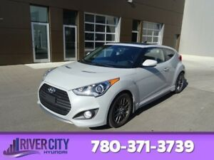 2014 Hyundai Veloster TURBO Navigation (GPS),  Leather,  Heated