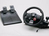 Logitech Force GT Steering Wheel (PS3/PC) & GT6 Bundle