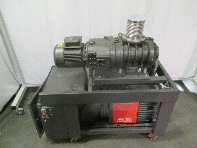 BOC Edwards E2M80-EH500 Two Stage Vacuum Pump w/ Booster, L22000010, 453525