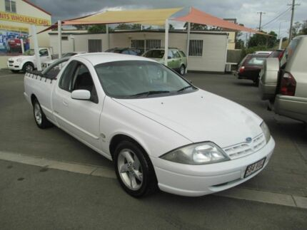 2002 Ford Falcon Auii XL SE White 4 Speed Automatic Utility Coopers Plains Brisbane South West Preview