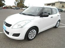 2013 Suzuki Swift FZ GL White 4 Speed Automatic Hatchback Maidstone Maribyrnong Area Preview