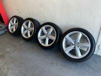 Genuine Audi S Line Alloys Alloy Wheels 245/40/18