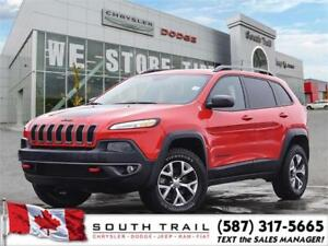 2017 Jeep Cherokee TrailHawk, Cost Clearance Only 232.00BW