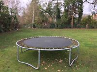 Trampoline. 10 ft TP. Working but well used. Free for anyone collecting