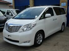2009 Toyota Alphard 20 SERIES Detachable Chair White 5 Speed Tiptronic Wagon Caringbah Sutherland Area Preview