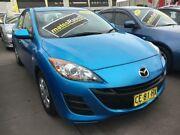 2011 Mazda 3 BL10F2 Neo Blue 6 Speed Manual Sedan Harris Park Parramatta Area Preview