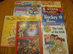 Lot of Children's Books Lego, Scobby Doo, Clifford