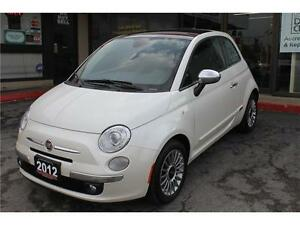 2012 Fiat 500 *Lounge* / SOLD