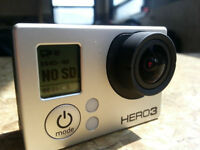 Like New GOPRO HERO3 Black with many Accessories