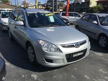 2009 Hyundai i30 FD MY09 SX Silver 4 Speed Automatic Wagon Haberfield Ashfield Area Preview