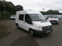 Ford Transit T280 SWB Medium Roof Double Cab Van tdci 100ps DIESEL MANUAL (2012)