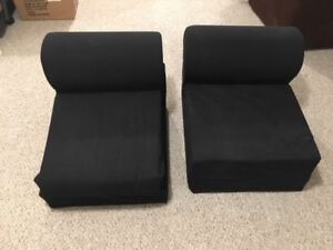 Black Flip Chairs