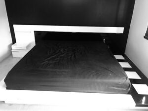 KING SIZE LOW PROFILE BED FOR SALE