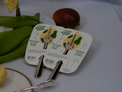 Emma's Mango Fork - set of two on a card- Put a Handle on Your Mangos