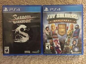 PS4 Games **LIKE NEW**
