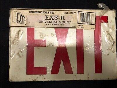Prescolite Exit Light Ex3-r