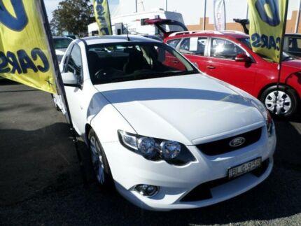 2009 Ford Falcon FG XR6 Winter White 5 Speed Auto Seq Sportshift Utility Port Macquarie 2444 Port Macquarie City Preview