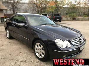 2003 Mercedes-Benz CLK320 C209 Elegance Blue 5 Speed Auto Touchshift Coupe Lisarow Gosford Area Preview