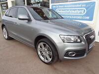Audi Q5 3.0TDI quattro 4x4V6 Tronic 2009 S Line Full S/H £7675 added extras P/X